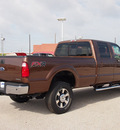 ford f 350 super duty 2012 brown lariat flex fuel 8 cylinders 4 wheel drive automatic 77375