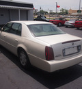 cadillac deville 2001 white sedan gasoline 8 cylinders dohc front wheel drive automatic 76103