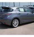 lexus ct200h 2012 gray hatchback premium hybrid 4 cylinders front wheel drive automatic 77074