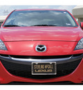 mazda mazda3 2011 red hatchback s grand touring gasoline 4 cylinders front wheel drive automatic 77074
