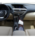lexus rx 350 2013 white suv gasoline 6 cylinders front wheel drive automatic 77074