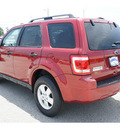 ford escape 2012 red suv xlt gasoline 4 cylinders front wheel drive automatic 77375