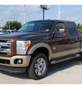 ford f 250 super duty 2012 brown lariat fx4 biodiesel 8 cylinders 4 wheel drive automatic 77375