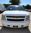 chevrolet suburban 2012 white suv ls 1500 flex fuel 8 cylinders 2 wheel drive automatic 76051