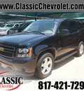 chevrolet tahoe 2012 black suv ls flex fuel 8 cylinders 2 wheel drive automatic 76051