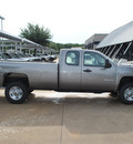 chevrolet silverado 2500hd 2012 gray work truck gasoline 8 cylinders 4 wheel drive automatic 76051