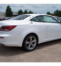 lexus is 250c 2012 white gasoline 6 cylinders rear wheel drive automatic 77074