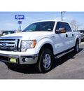 ford f 150 2012 white xlt gasoline 6 cylinders 4 wheel drive automatic 79407