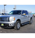 ford f 150 2012 silver xlt flex fuel 8 cylinders 4 wheel drive automatic 79407