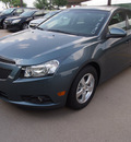 chevrolet cruze 2012 blue grani sedan lt gasoline 4 cylinders front wheel drive not specified 76051