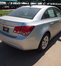 chevrolet cruze 2012 silver ice sedan ls gasoline 4 cylinders front wheel drive not specified 76051