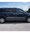 chrysler town and country 2008 dk  blue van limited gasoline 6 cylinders front wheel drive 6 speed automatic 77002
