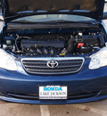 toyota corolla 2005 dk  blue sedan ce gasoline 4 cylinders front wheel drive automatic 77566