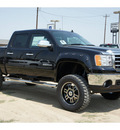 gmc sierra 1500 2012 black sle flex fuel 8 cylinders 4 wheel drive automatic 78853