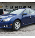 chevrolet cruze 2012 blue sedan lt gasoline 4 cylinders front wheel drive 6 speed manual 78853