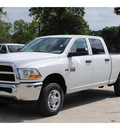ram ram pickup 2500 2012 white st gasoline 8 cylinders 4 wheel drive 6 speed automatic 76520