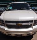 chevrolet tahoe 2012 white diam suv ltz flex fuel 8 cylinders 4 wheel drive not specified 76051