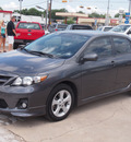 toyota corolla 2011 gray sedan s gasoline 4 cylinders front wheel drive automatic with overdrive 77864