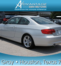 bmw 3 series 2012 silver coupe 335i gasoline 6 cylinders rear wheel drive automatic 77002