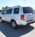 honda pilot 2009 silver suv ex gasoline 6 cylinders front wheel drive automatic 28557