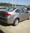 ford focus 2008 silver sedan s gasoline 4 cylinders front wheel drive automatic 75503