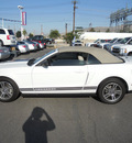 ford mustang 2010 performance white gasoline 6 cylinders rear wheel drive automatic 79925
