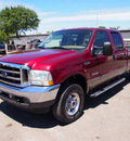 ford f 250 super duty 2004 burg crew cab 4x4 lariat diesel diesel 8 cylinders 4 wheel drive automatic with overdrive 95678