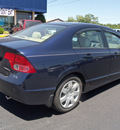 honda civic 2006 blue sedan lx gasoline 4 cylinders front wheel drive not specified 37087