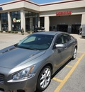 nissan maxima 2009 gray sedan 3 5 sv gasoline 6 cylinders front wheel drive cont  variable trans  47130