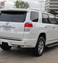 toyota 4runner 2010 white suv sr5 gasoline 6 cylinders 2 wheel drive automatic with overdrive 77074