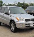 toyota rav4 2003 gray suv gasoline 4 cylinders front wheel drive 5 speed manual 77074