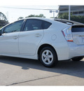 toyota prius 2010 white v hybrid 4 cylinders front wheel drive automatic 77074