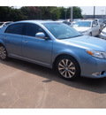 toyota avalon 2012 blue sedan limited 6 cylinders automatic 77074