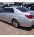 toyota avalon 2012 silver sedan limited 6 cylinders automatic 77074