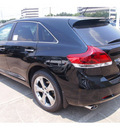 toyota venza 2013 black 6 cylinders automatic 77074