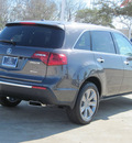 acura mdx 2012 dk  gray suv w advance gasoline 6 cylinders all whee drive automatic with overdrive 77074