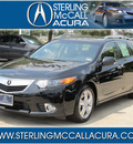 acura tsx sport wagon 2012 black wagon w tech gasoline 4 cylinders front wheel drive automatic with overdrive 77074