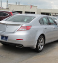 acura tl 2012 silver sedan w advance gasoline 6 cylinders front wheel drive automatic with overdrive 77074