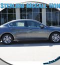 honda accord 2012 dk  gray sedan lx p gasoline 4 cylinders front wheel drive automatic 77339