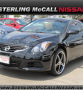 nissan altima 2012 black coupe 2 5 s gasoline 4 cylinders front wheel drive shiftable automatic 77477