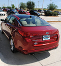 kia optima 2012 red sedan 4dr sdn 2 4l ex at gasoline 4 cylinders front wheel drive automatic 75070