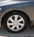 honda civic 2009 gray sedan lx gasoline 4 cylinders front wheel drive 5 speed automatic 75070