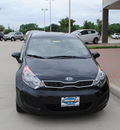 kia rio5 2012 black wagon 5dr hb ex at gasoline 4 cylinders front wheel drive automatic 75070