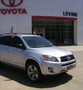 toyota rav4 2010 silver suv sport gasoline 4 cylinders 2 wheel drive automatic 75901