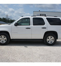 chevrolet tahoe 2008 white suv ls flex fuel 8 cylinders 2 wheel drive automatic 77575