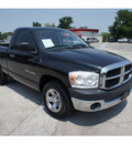 dodge ram pickup 1500 2007 black pickup truck slt 6 cylinders 6 speed manual 78205