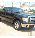 ford f 150 2011 black xlt flex fuel 8 cylinders 2 wheel drive automatic with overdrive 77657