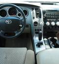 toyota tundra 2007 green sr5 gasoline 8 cylinders 2 wheel drive 6 speed automatic 77521