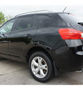 nissan rogue 2009 black suv sl gasoline 4 cylinders all whee drive cont  variable trans  77521