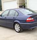 bmw 3 series 2005 blue sedan 325i gasoline 6 cylinders rear wheel drive 77008